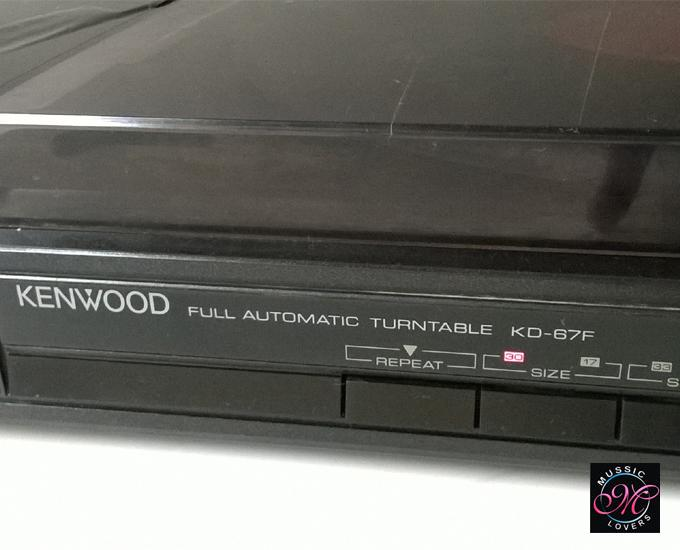Buy Vintage Kenwood Kd 67f Fully Automatic Linear Tracking