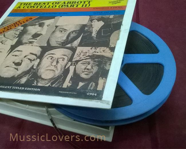 Buy Vintage Rare 8mm & 16mm projector reels with movies Sale