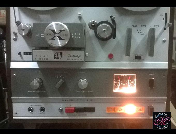 Buy Vintage Vintage Akai X 1800sd Reel To Reel 8 Track