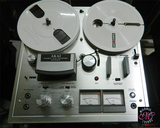 Akai 1722 Ii 4 Track Stereo Reel To Reel Vintage Tape
