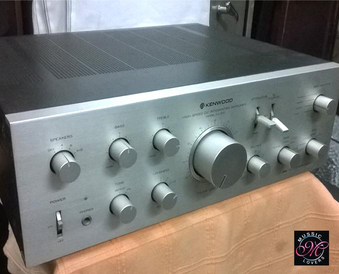 on Kenwood Home Stereo Amplifier
