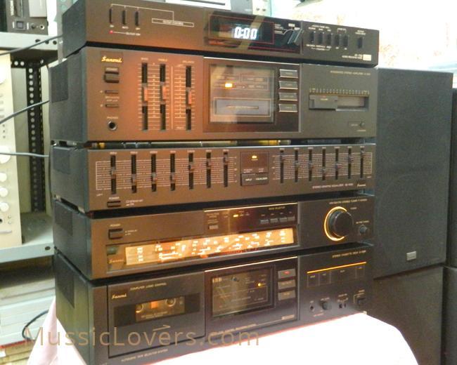 Buy Vintage Sansui Japan Vintage Rack Type Music System
